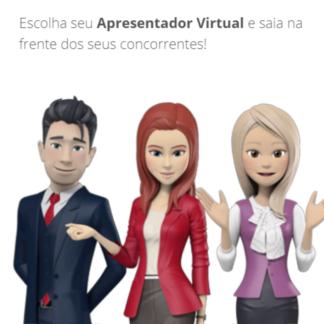 apresentador virtual