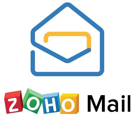 zoho e-mail configuração